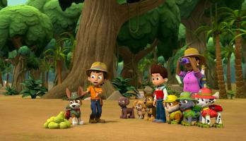 Paw Patrol - S5E10 - Pups Save the PawPaws/Pups Save a Popped Top