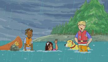 Martha Speaks - S1E14 - Escape from Flea Island/No Dogs Allowed
