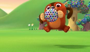 Ruff - Ruff Tweet and Dave - S1E128 - A Squeaky Ball Adventure