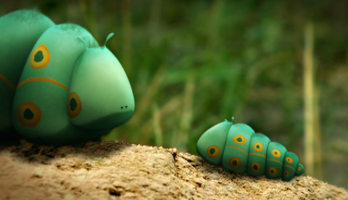 Minuscule - S1E6 - Caterpillars in Paris