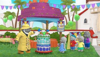 Ella the Elephant - E3 - Ella Bakes a Cake