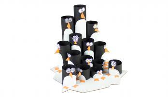 Box Yourself Minis - S1E32 - Pencil Penguin Colony Organizer