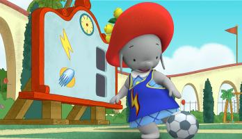 Ella the Elephant - E8 - Ella On the Ball