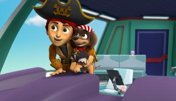 Paw Patrol - S5E9 - Pups Save Their Pirated Sea Patroller