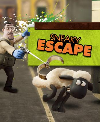 Shaun the Sheep - Sneaky Escape
