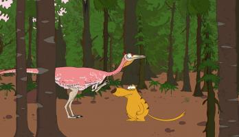 Ralph and the Dinosaurs - E16 - Pelecanimimus