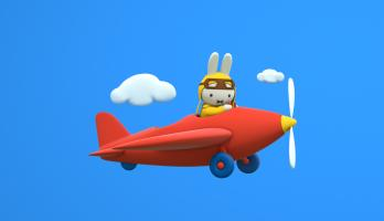 Miffy's Adventures Big and Small - E35 - Uncle Pilot's Amazing Plane