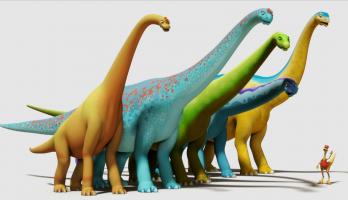 Dinosaur Train - S2E19 - An Apatosaurus Adventure/Nature Art