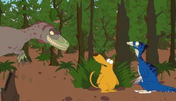 Ralph and the Dinosaurs - E2 - Beipiaosaurus
