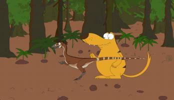 Ralph and the Dinosaurs - E19 - Sinosauropteryx