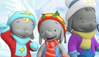 Ella the Elephant - E29 - Tiki's Snow Fun