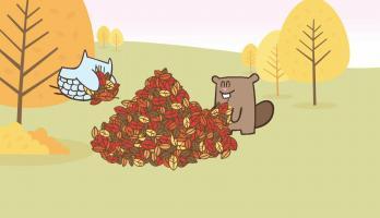 Knowledge Kids - Pile of Leaves