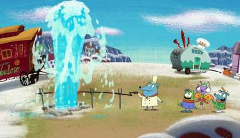 Let's Go Luna - Volcano Boy/A Sea Monster Tale