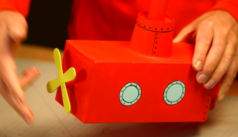 Box Yourself Minis - S2E60 - Red Submarine