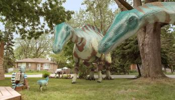 Dino Dana - S2E6 - Reptile Connection / Three Dinos and a Baby