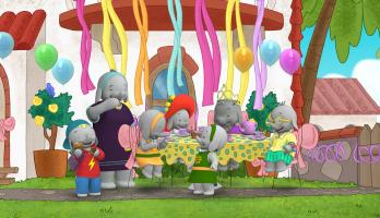 Ella the Elephant - E17 - Tea Party