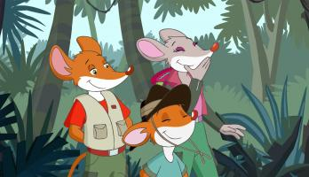 Geronimo Stilton - S2E16 - Chase Trailor and the Golden Rodent
