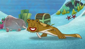 I'm a Fish - E31 - I'm a Red Lipped Batfish
