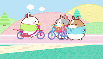 Molang - S1E2 - The Bicycle Ride