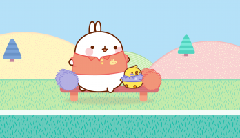 Molang - S1E39 - A Friendly Rugby game