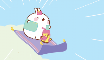 Molang - S3E2 - The Flying Carpet