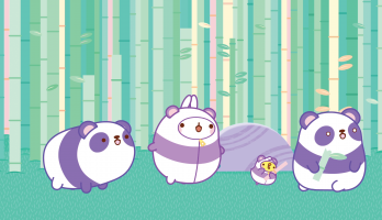 Molang - S3E44 - The Panda
