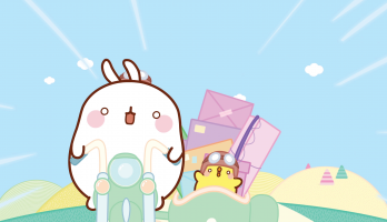Molang - S3E5 - The Delivery Men