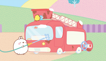 Molang - S3E6 - Firefighters