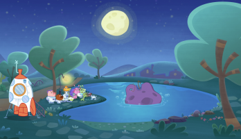 P King Duckling - E44 - Mildred and the Moon