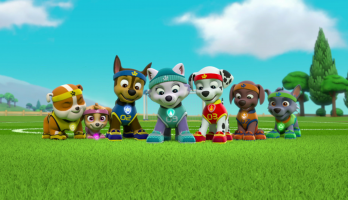 Paw Patrol - S4E407 - Mission Paw: Royally Spooked/Pups Save the Monkey-Dinger