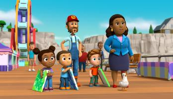 Paw Patrol - S4E416 - Pups Save a Shark/Pups Save the Pier