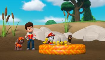 Paw Patrol - S5E12 - Pups Save the Snowshoeing Goodways/Pups Save a Duck Pond