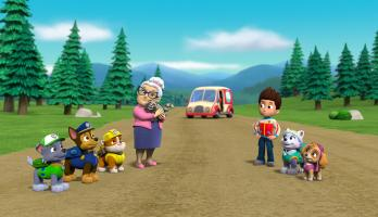 Paw Patrol - S5E8 - Pups Save the Bookmobile/Pups Save Heady Humdinger