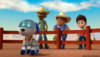 Paw Patrol - S6E6 - Pups and the Stinky Bubble Trouble/Pups Save the Baby Ostriches