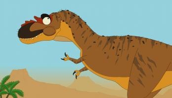 Ralph and the Dinosaurs - E1 - Albertosaurus