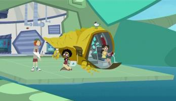 Wild Kratts - S3E2 - When Fish Fly
