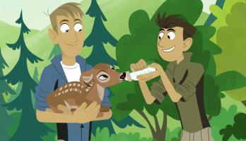 Wild Kratts - S6E4 - Deer Buckaroo