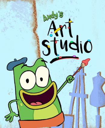 Let's Go Luna - Andy's Art Studio
