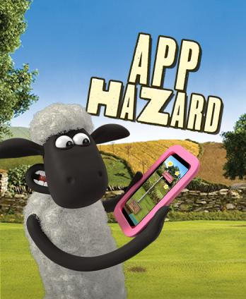 Shaun the Sheep - App Hazard